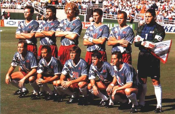 Sorber with 1994 US WC team