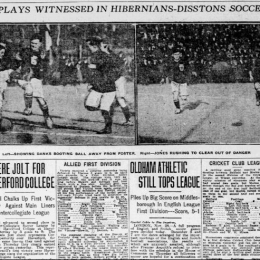 Thanksgiving soccer in Philly, 1914