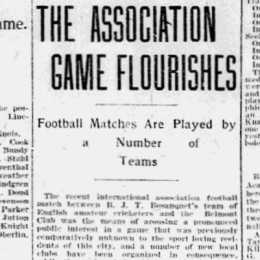 The origins of soccer in Philadelphia, part 10: It's only just begun