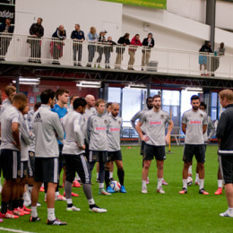 In Pictures: Union Open Practice, Jan. 30, 2015
