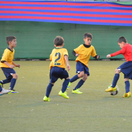 Continental FC's Ethan Manzella at the FCBEscola International Tournament