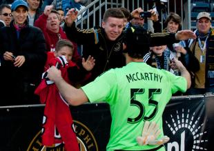 Player of the week: John McCarthy