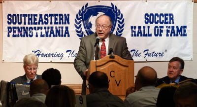 EPYS honors SEPA Soccer Hall of Fame with Service to Community Award