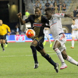 David Accam acquired by Philadelphia Union from Chicago Fire