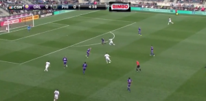 In the build up to Barnetta's fierce shot, he played the ball to Le Toux then continued his run around the defense, providing a vertical option through the middle the Union have often lacked.