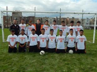 Furness Boys Soccer and Coach Licinio Ferreira
