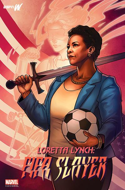 Loretta Lynch FIFA Slayer