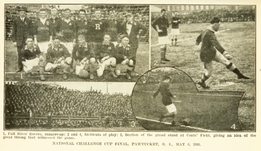 1916: Bethlehem Steel wins the US Open Cup and American Cup
