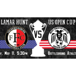 West Chester United in their first-ever US Open Cup game on Wednesday