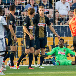 In pictures: Union 2-3 Whitecaps