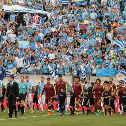 In pictures: Uruguay 0-1 Venezuela