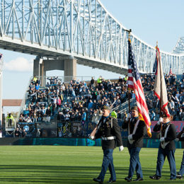 Fans' view: Take me to the river (if  maybe 10 miles more north)