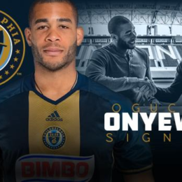 Union sign Oguchi Onyewu