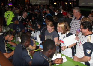 """In pictures: Philadelphia Union """"Meet the Team"""" day"""