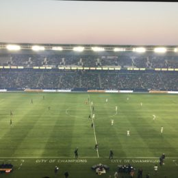 LA Galaxy v Philadelphia Union, April 29 2017, Peter Andrews