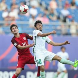 Barebones summary:  USA 1 – KSA 1 at U20 World Cup