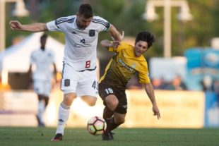 Bethlehem Steel FC vs. Charleston Battery at MUSC Health Stadium in Charleston, S.C. on Saturday, May 6, 2017. Zach Bland Photo