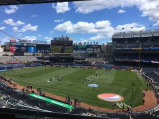 Yankee Stadium's soccer pitch is an embarrassment to MLS