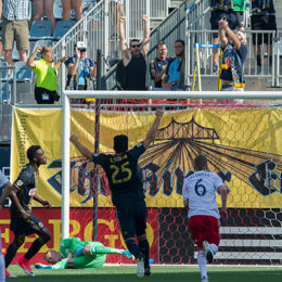 In pictures: Union 3-0 NE Revolution