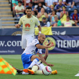 In pictures: Club America 4 – 0 Puebla FC