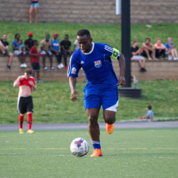 Courtesy NPSL  Fatoma Turay Junior Lone Star