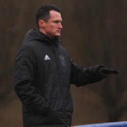 Coach Burke counsels calm