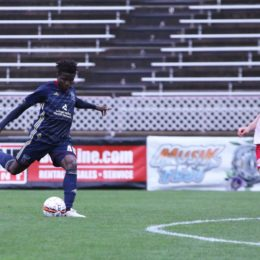 The Steel were able to conjure up a chance and newcomer Michee Ngalina did not disappoint.