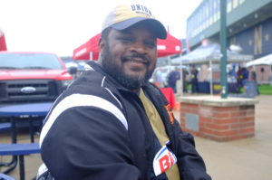 People In The Stadium: Dexter Trotter