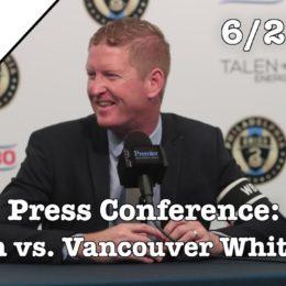 PSP Postgame Show: Union 4-0 Vancouver Whitecaps
