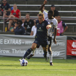 Moar is fourth in the league in assists  Photo Courtesy BSFC Communications